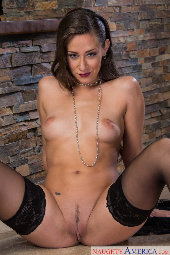 Erotic tease Cassidy Klein sheds lingerie to tempt with her