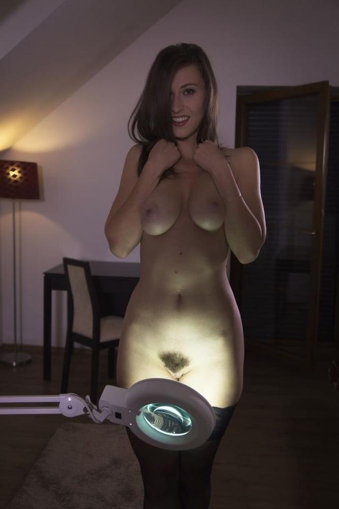 Janas Special - Tall Emylia Argan Strips To Stockings